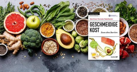 """Buchpräsentation """"Geschmeidige Kost - Essen ohne Barriere"""" am 16.5."""