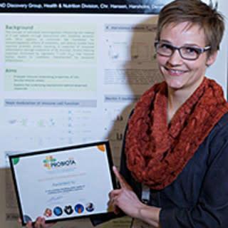 Chr. Hansen wins research award at Probiota 2015
