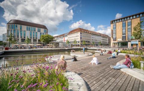 Deutscher Landschaftsarchitektur-Preis: Holstenfleet mit Kebony Holz bekommt Auszeichnung