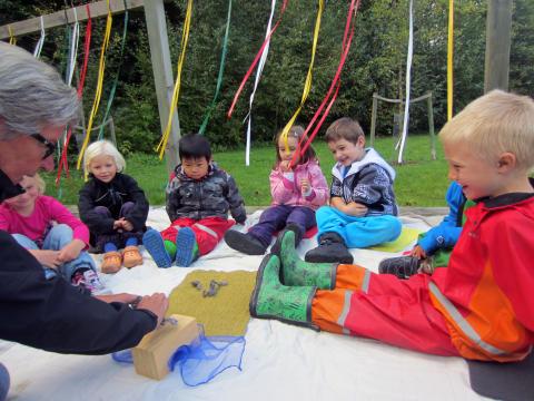 Lek och lär utomhus på Hovdala vandringsfestival 21 september