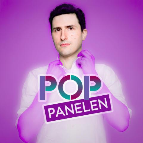 Premiär för musikpodden Pop-panelen med Pontus de Wolfe