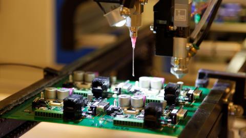 Växande marknad för elektroniklösningar