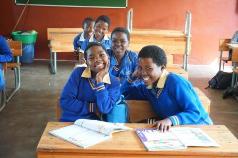 Hydroscand finansierar en bättre IT-miljö för elever i Sydafrika