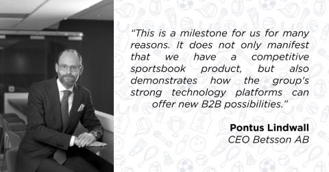 Betsson signs sportsbook B2B deal with ibet