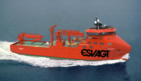 New special vessel ordered from Havyard