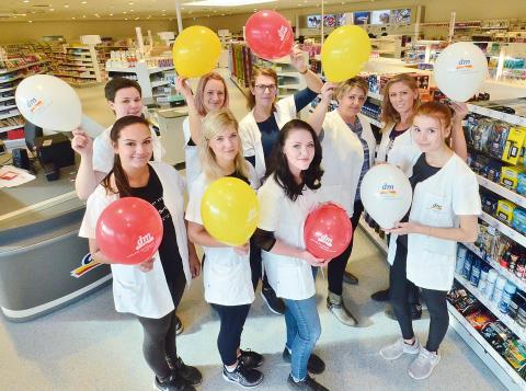 dm-Markt in Grimma eröffnet mit großer Spendenaktion