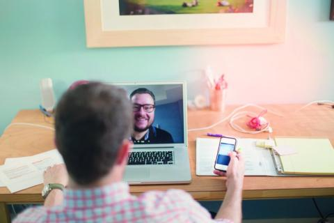 Video Chat Bewerbung