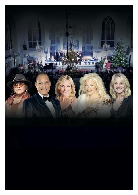 """En månad kvar till en av landets stora julkonsertspremiärer """"Änglaljus"""" med John Kluge, Linda Lampenius, Sofia Källgren och Py Bäckman!"""