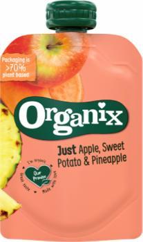 7465 Organix just apple sweet potato and pineapple