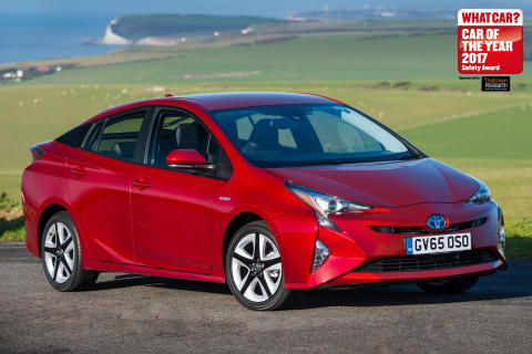 Toyota Prius - Thatcham Research sponsored What Car Safety Award Winner 2017