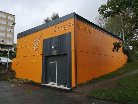 Återvinning och konst samsas i Rannebergen