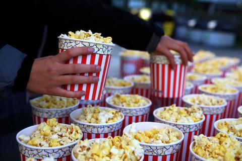 Friluftskino popcorn