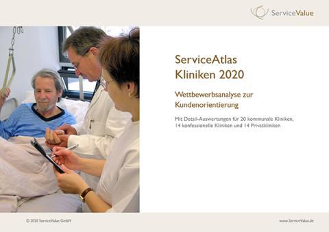 ServiceAtlas Kliniken in Deutschland