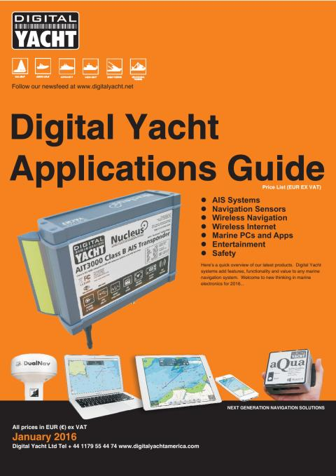 Digital Yacht Euro Product Guide Now Available