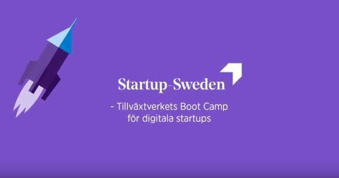 Digitala jättar i samarbete med Startup Sweden