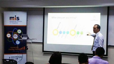 "HBM's Mark Laudi presented workshop on ""Engaging Your Target Audience Through Video Storytelling"""