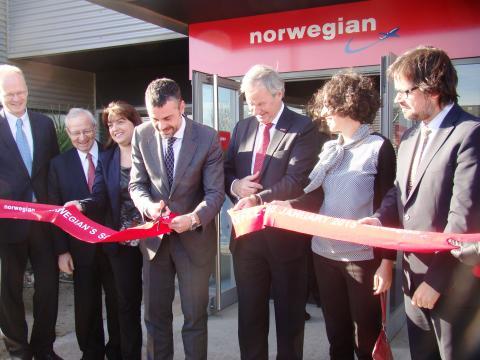 Norwegian inaugura sus oficinas corporativas para el Sur de Europa en el Aeropuerto de Barcelona