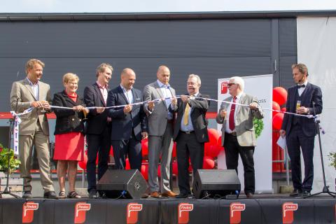 Norra Europas största och mest energieffektiva fryslager invigt