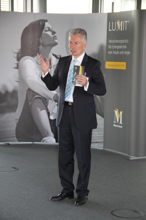LUMIT FACHTAG 2016 - Begrüßung durch Vorstand Jürgen Wörner