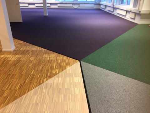 EcoBase mattor från Desso möter trägolv i Bremen 4