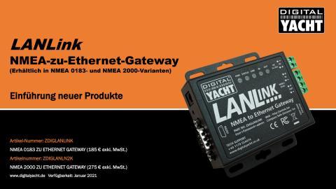 LANLink NMEA-zu-Ethernet-Gateway