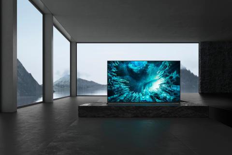 Televisor 8K HDR Full Array LED ZH8 da Sony disponível nas lojas