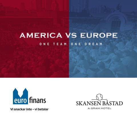 Euro Finans arrangerar första upplagan av America vs Europe by Euro Finans