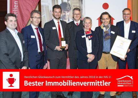 S-ImmobilienService der Stadtsparkasse München ist bester Immobilienvermittler in Bayern
