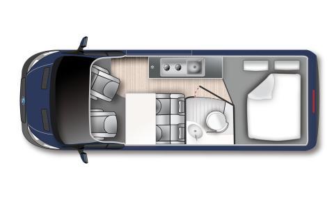 2019 Ford Transit Custom Big Nugget Concept_Grundriss
