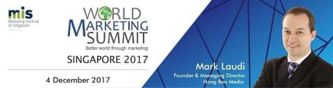 The father of modern marketing, Professor Philip Kotler, to speak at World Marketing Summit Singapore 2017, moderated by HBM's Mark Laudi