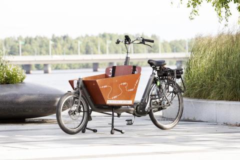 U-bike liten tvåhjuling