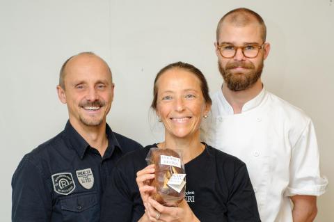 En flirt med Frankrike blev vinnarsuccé i Västmanlands Matverk