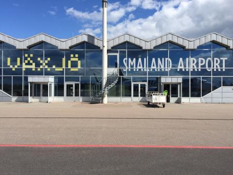 Högst tillväxt av samtliga Svenska flygplatser kvartal ett