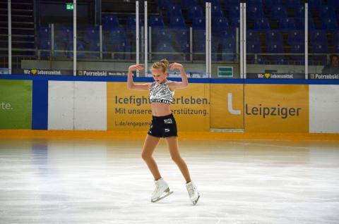 Nachwuchs-Star Antonia Weber