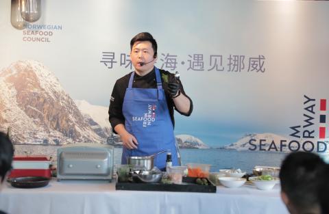 Norsk torskefestival i Kina