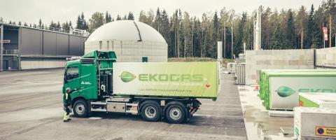 Nu går vi för 100 procent och levererar biogas till de nya stadsbussarna