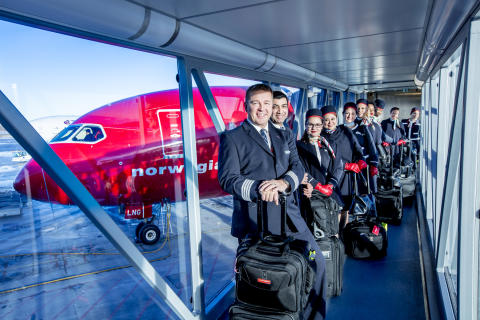Norwegian reports a net profit of more than 1.1 billion NOK (£109million) in 2016