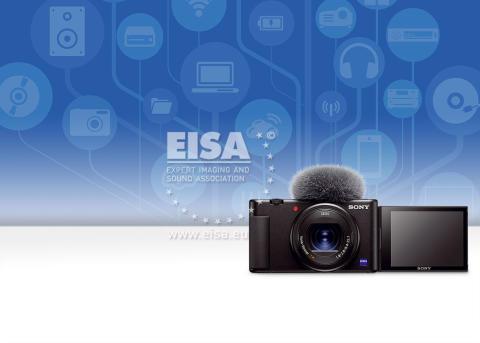 """Sony sărbătorește succesul la EISA 2020, în special pentru premiul """"Cea mai bună cameră de Vlogging a anului"""""""