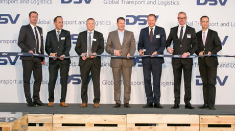 DSV's new super centre in Germany officially inaugurated