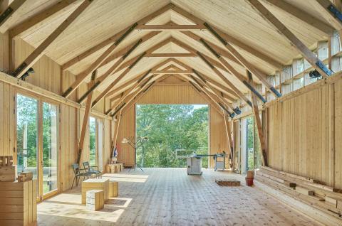 Träprisvinnare 2020: Ateljé i Södersvik