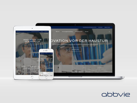 AbbVie Deutschland launcht neue Unternehmenswebseite und Arbeitgeber-Kampagne