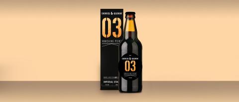 Innis & Gunn släpper tredje ölen i den limiterade Barrel Aged serien Vanishing Point - VP03.