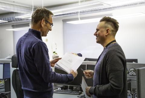 Steinar Nilsen og Kåre Vegar Sund