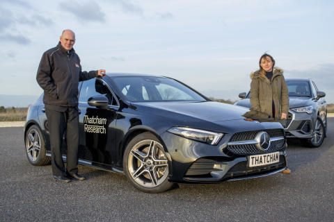 A Class Act: Mercedes A-Class wins What Car? Safety Award 2019