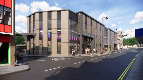 Redevelopment of Durham Bus Station