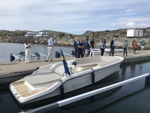 En Nordisk Stjärna är född – Strana är elbåten utan kompromisser