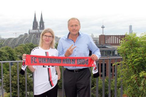 Nachhaltiges Sportsponsoring: Zurich wird Partner des FC Viktoria Köln
