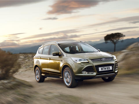 Ford slipper prisene på nye Kuga.