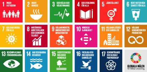 Alingsås kommun är bland de bättre storstadskommunerna i Agenda 2030