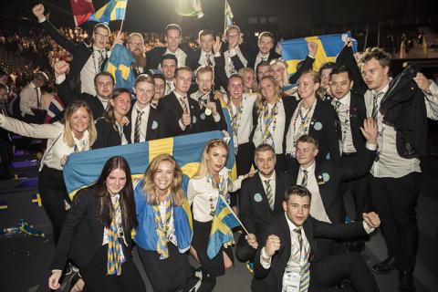 Svensk bronsmedalj vid Yrkes-VM 2017 i Abu Dhabi